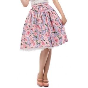 Collect Pink Rose Skirt